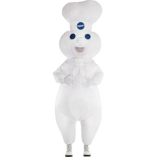 Adult Inflatable Pillsbury Doughboy Costume Image #1