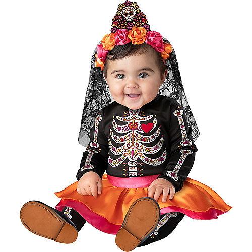 Baby Sugar Skull Sweetie Costume Image #1