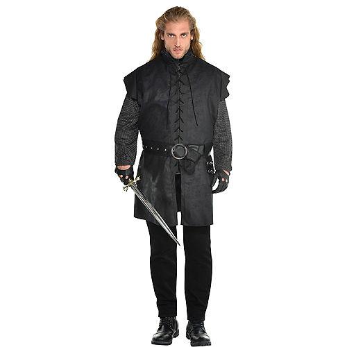 Adult Black Warrior Tunic Plus Size Image #1