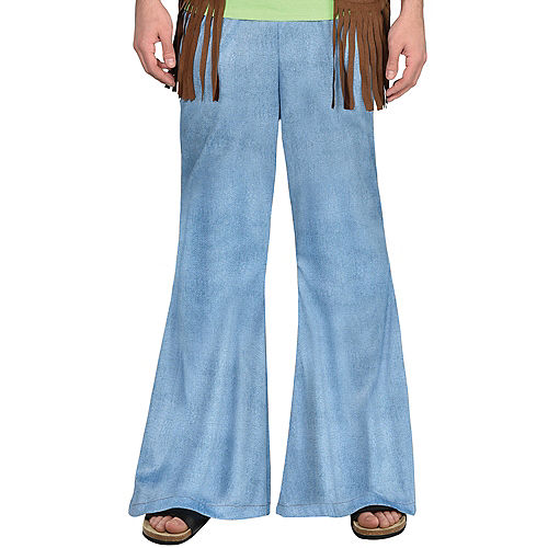 Hippie Bell Bottom Jeans for Adults Image #1