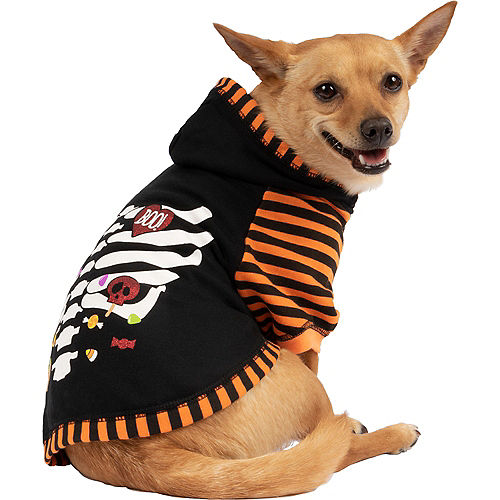 Sweet to the Bone Halloween Dog Hoodie Image #1