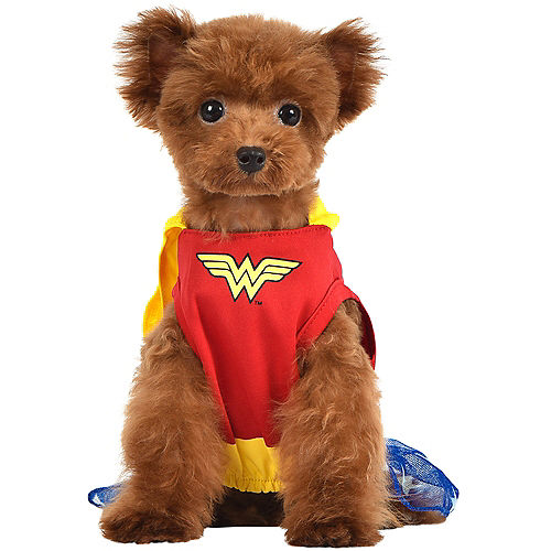 Nav Item for Wonder Woman Dog Costume & Toy - DC Comics Image #1