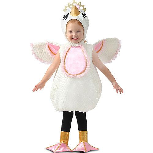 Child Swan Princess Costume Premium Image #1