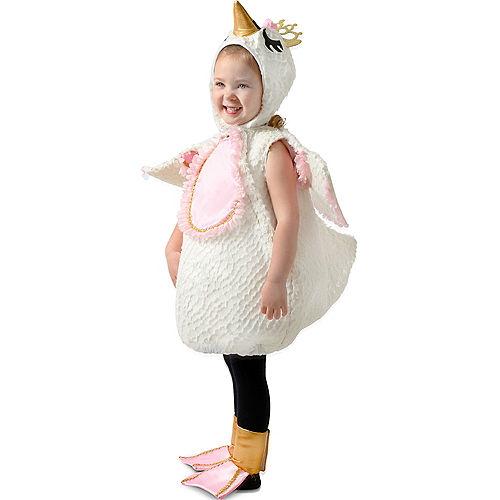 Child Swan Princess Costume Premium Image #5