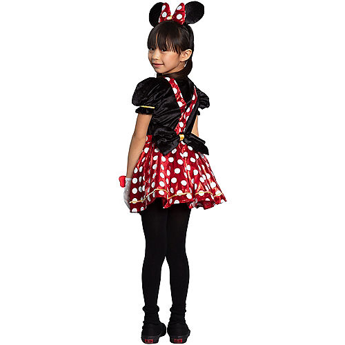 Child Red Polka Dot Minnie Mouse Costume - Disney Image #3