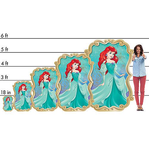 The Little Mermaid Ariel Dream Big Centerpiece Cardboard Cutout, 18in Image #2