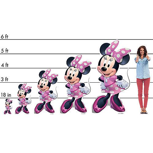 Minnie's Happy Helpers Cardboard Cutout, 4ft Image #2