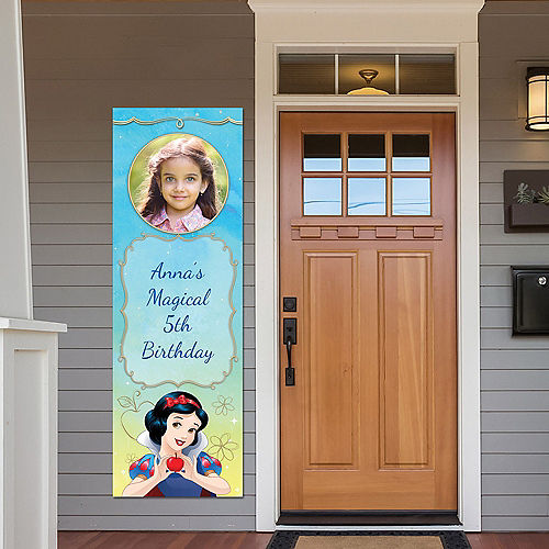 Custom Snow White Once Upon a Time Photo Vertical Banner Image #1