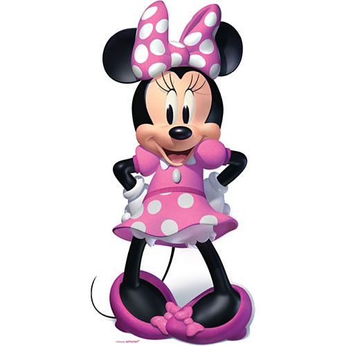 Minnie Mouse Forever Life-Size Cardboard Cutout, 5ft Image #1