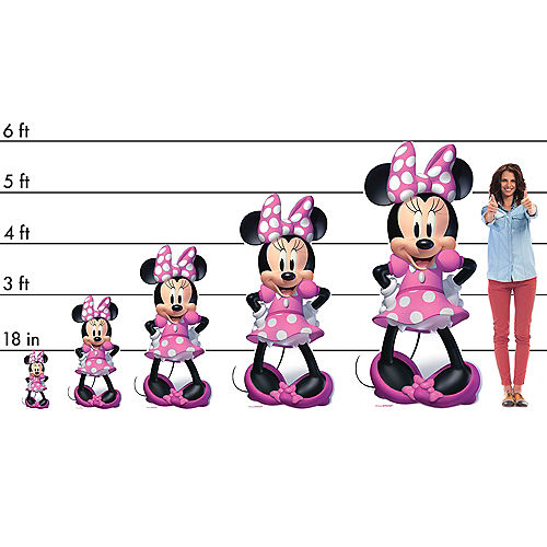 Minnie Mouse Forever Life-Size Cardboard Cutout, 5ft Image #2