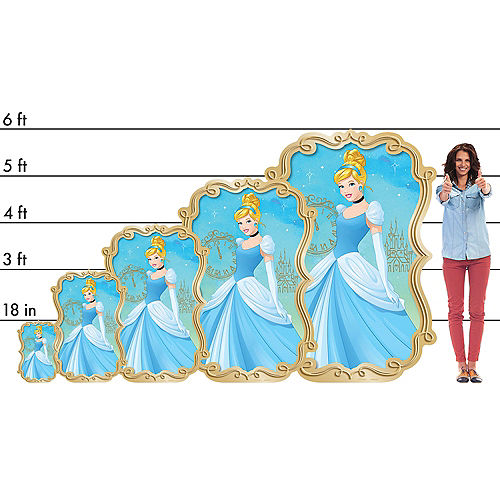 Cinderella Cardboard Cutout, 4ft Image #2