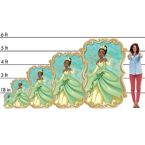 Tiana Centerpiece Cardboard Cutout, 18in - The Princess and the Frog Image #2