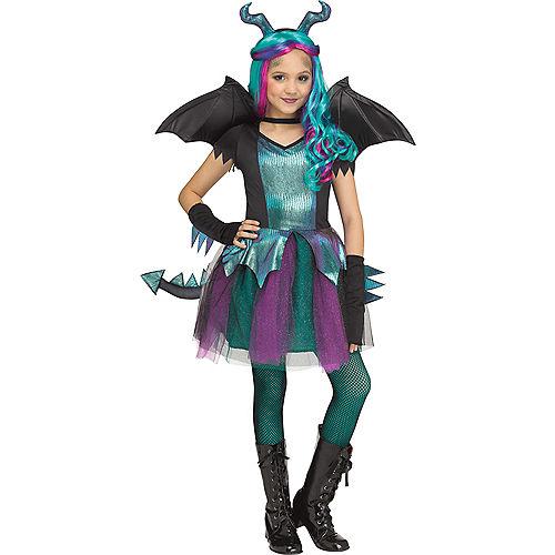 Child Dark Dragon Costume Image #1