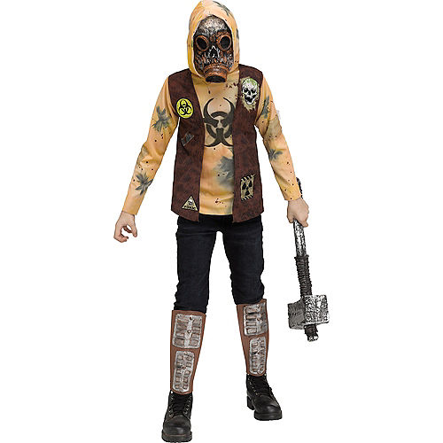 Child Post-Apocalyptic Warrior Costume Image #1