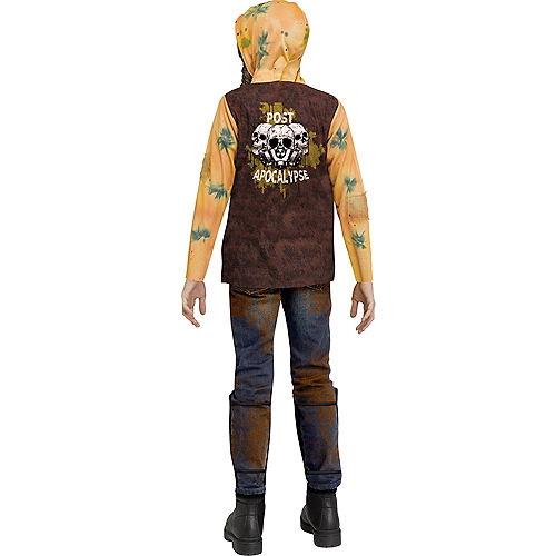 Child Post-Apocalyptic Warrior Costume Image #2