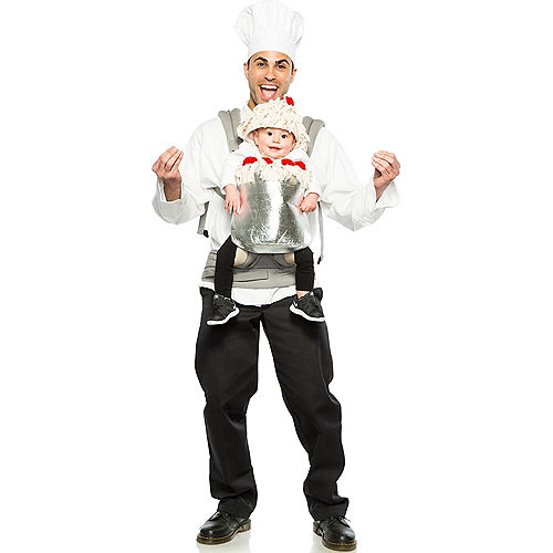 Chef & Spaghetti Baby & Me Costume Image #2