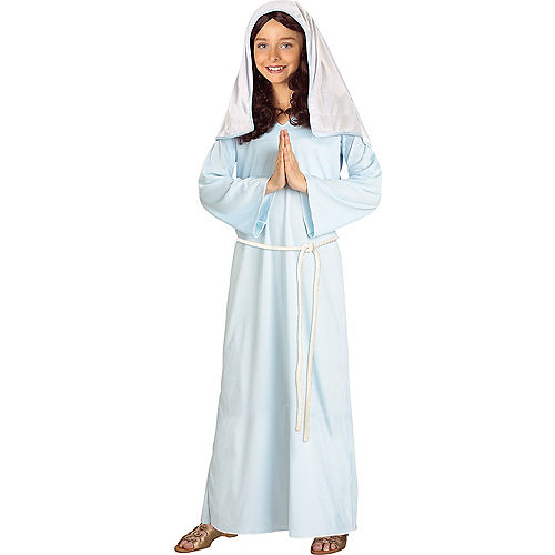 Mother Mary Nativity Costume for Kids Image #1