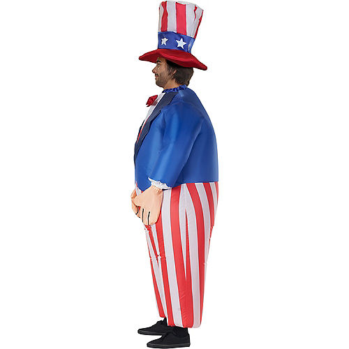 Adult Inflatable Uncle Sam Costume Image #3