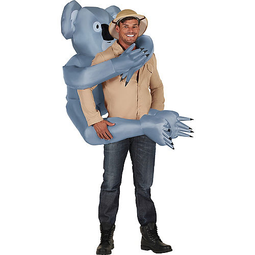 Adult Inflatable Koala Piggyback Costume Image #1