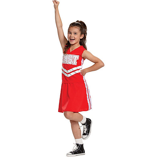 Child East High Cheerleader Costume - Disney High School Musical: The Musical: The Series Image #1