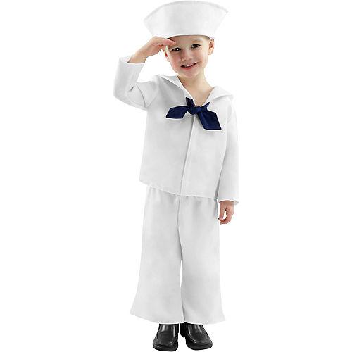 Child WWII Sailor Costume Image #1