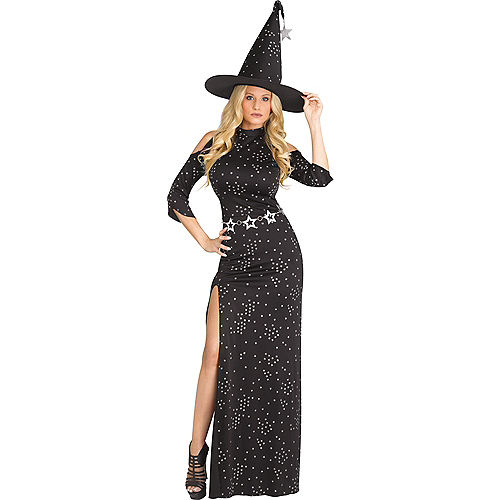 Adult Celestial Witch Costume Image #1