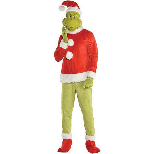 Santa Grinch Costume Image #1