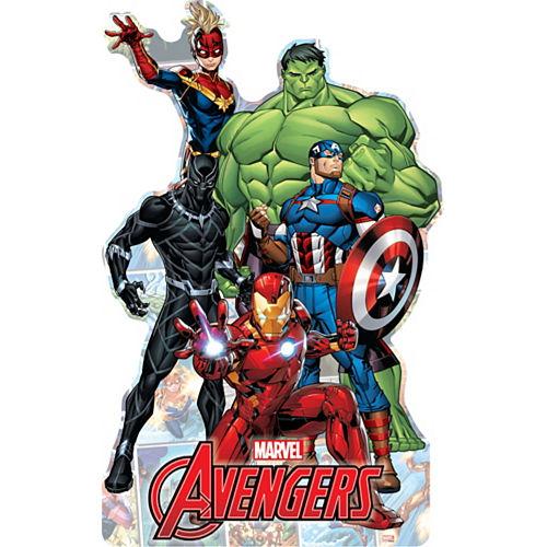 Marvel Powers Unite Centerpiece Cardboard Cutout, 18in Image #1