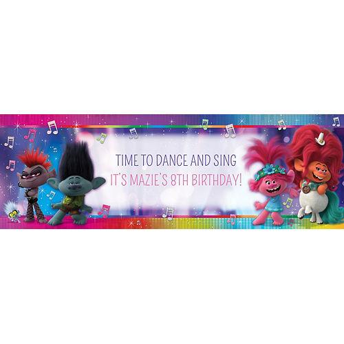 Custom Trolls World Tour Horizontal Banner Image #1