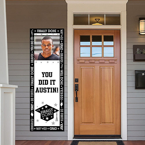 Custom Grid Graduation Photo Vertical Banner Image #1