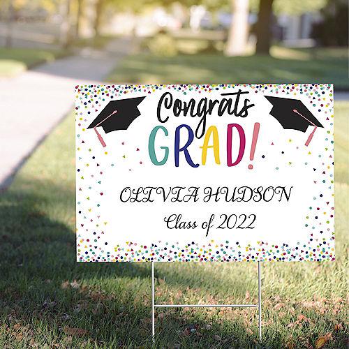 Custom Yay Grad Yard Sign Image #1