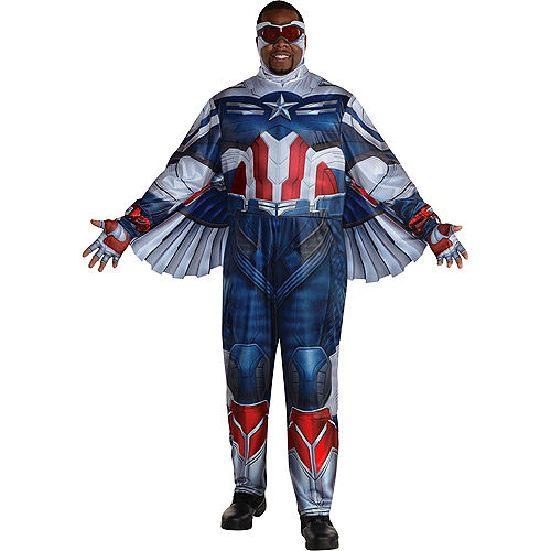 Falcon Costume Plus Size for Adults - Marvel The Falcon and the Winter Soldier Image #1
