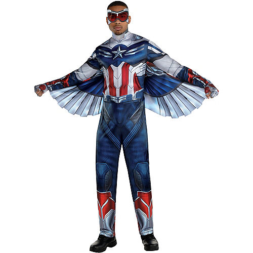 Falcon Costume for Adults - Marvel The Falcon and the Winter Soldier Image #1