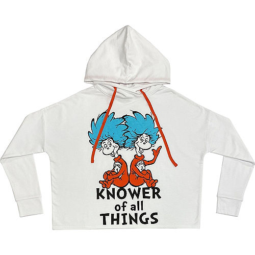Knower of All Things Hoodie Tunic for Adults - Dr. Seuss Image #1
