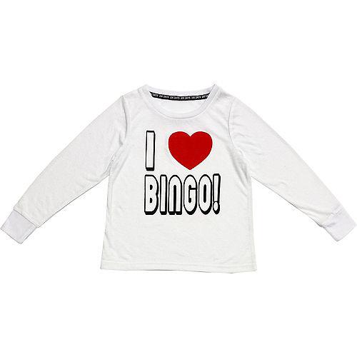 Child I Love Bingo Long-Sleeve Shirt Image #1