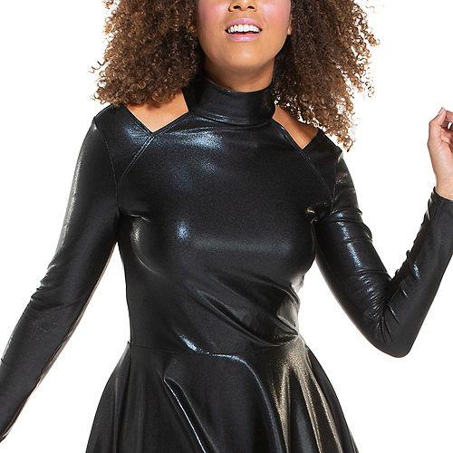 Adult Black Alien Dress Image #2