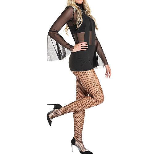 Adult Black Bunny Costume Accessory Kit Image #3