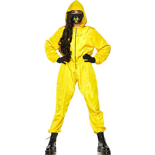 Radioactive Hazmat Suit Costume for Adults Image #1