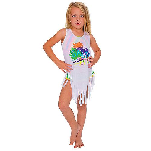 Sleeveless Salty But Sweet Fringe Dress for Kids Image #1