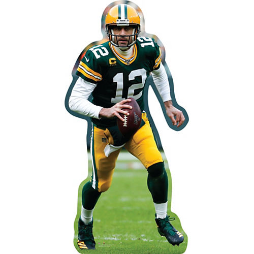 NFL Green Bay Packers Aaron Rodgers Cardboard Cutout, 3ft Image #1