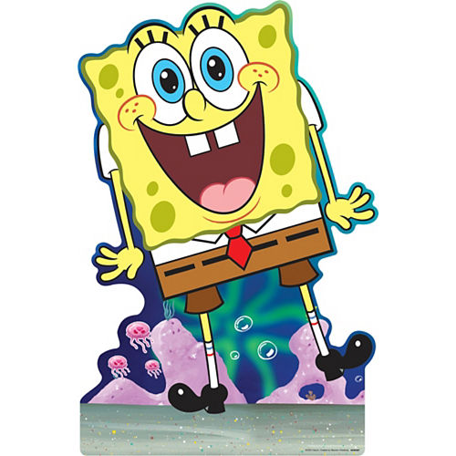 SpongeBob SquarePants Cardboard Cutout, 3ft Image #1