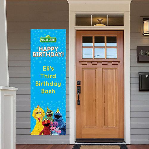 Custom Sesame Street Vertical Banner Image #1