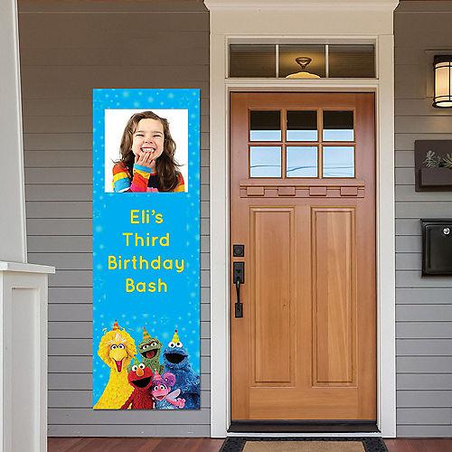 Custom Sesame Street Photo Vertical Banner Image #1