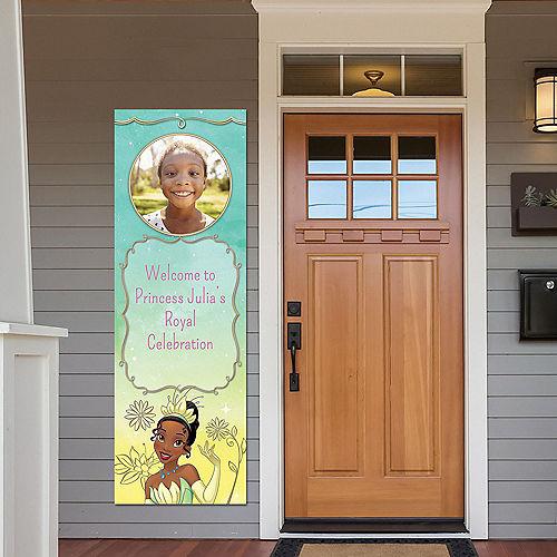 Custom Princess & the Frog Tiana Photo Vertical Banner Image #1
