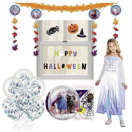 Disney Frozen 2 Halloween Car Parade Kit with Elsa Costume for Kids Image #1