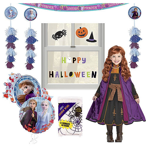 Disney Frozen 2 Halloween Car Parade Kit with Anna Costume for Kids Image #1