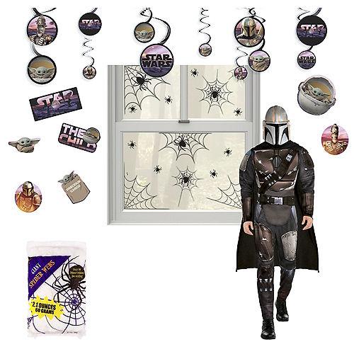 Star Wars The Mandalorian Halloween Car Parade Kit with Mandalorian Costume for Adults Image #1
