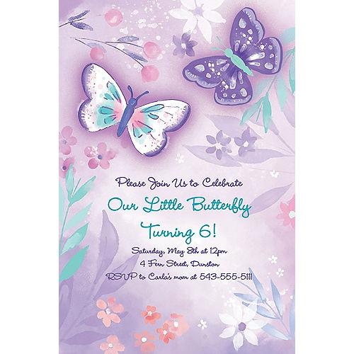 Custom Flutter Invitations Image #1