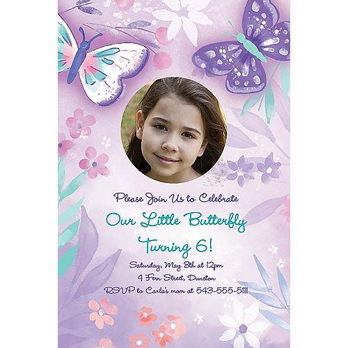 Custom Flutter Photo Invitations Image #1