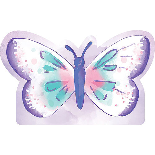 Flutter Butterfly Cardboard Cutout, 36in x 22in Image #1